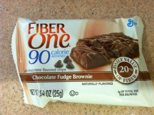 Fiber One 90 Brownie