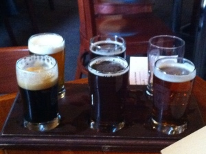Jared's Beer Flight