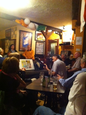 Live Trad at the Reel Inn, Donegal, Ireland