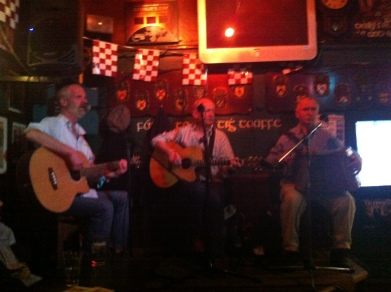 Live Trad at Taaffes, Galway, Ireland