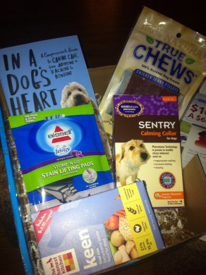 Dog Lovers Box Contents