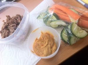 Hummus & Pork