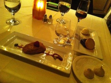 Pistachio Cheesecake &Caramel Ganache