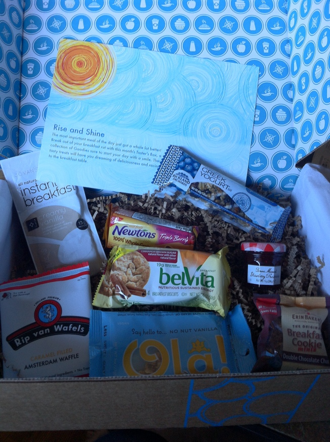 March 2013 Rise & Shine Goodies Box