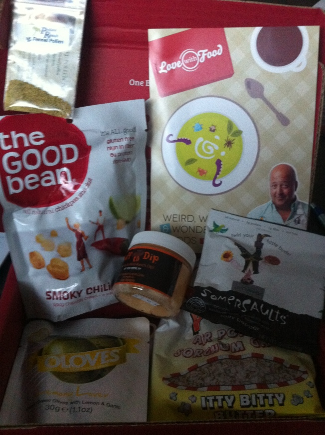 April Love With Food Box - Weird, Wild & Wonderful with Andrew Zimmern