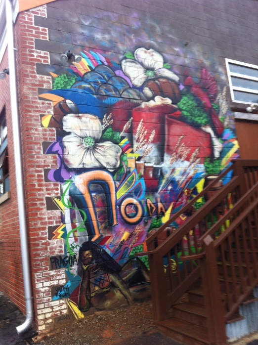 Building Mural at NoDa