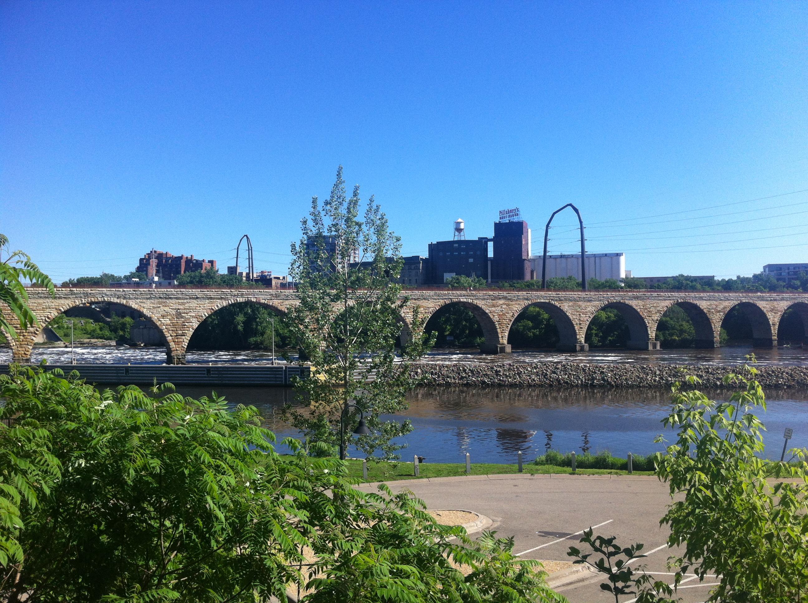 Stone Arch Bridge Design Getting LOST in...