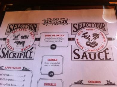 Balls & Sauce