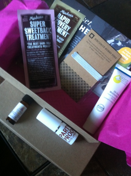 The Loot - August Birchbox