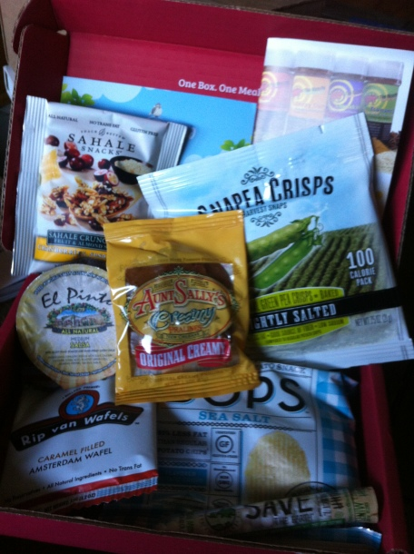 August Love with Food Box