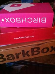 3 boxes