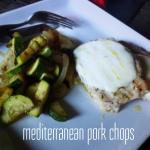 Mediterranean Pork Chops