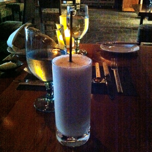 Ramos Gin Fizz    20 (please allow 8 min) Beefeater gin,lemon, lime,vanilla, simple syrup, cream egg white, orange blossom wate