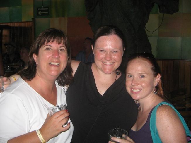Lisa, Me, Katie - Puerto Vallarta 2007