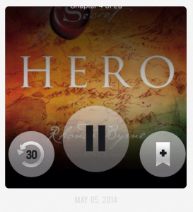 Finding this book on Audible to listen to while running