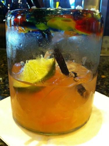 Pomelo Margarita - sauza blanco tequla, fresh grapefruit, st. germain, agave