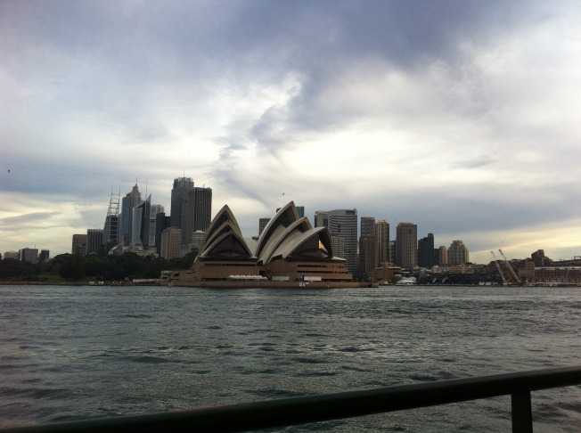 Sydney Opera House from Ferry 3