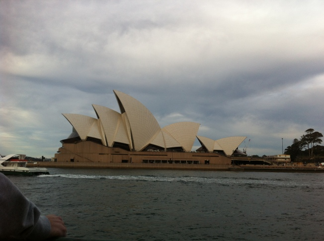 Sydney Opera House from Ferry 5