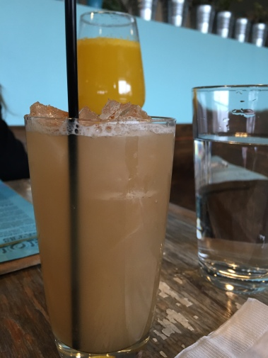 Carlito's Whey - wild rice horchata with whey, scarlet ibis run, marletti, spice bag bitters - $8.5