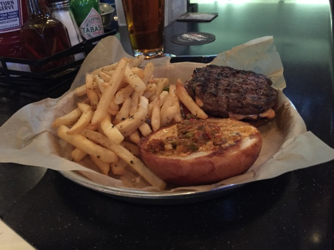 blue stone burger - meh
