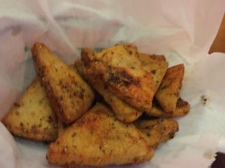 Seasoned, Toasted Pita