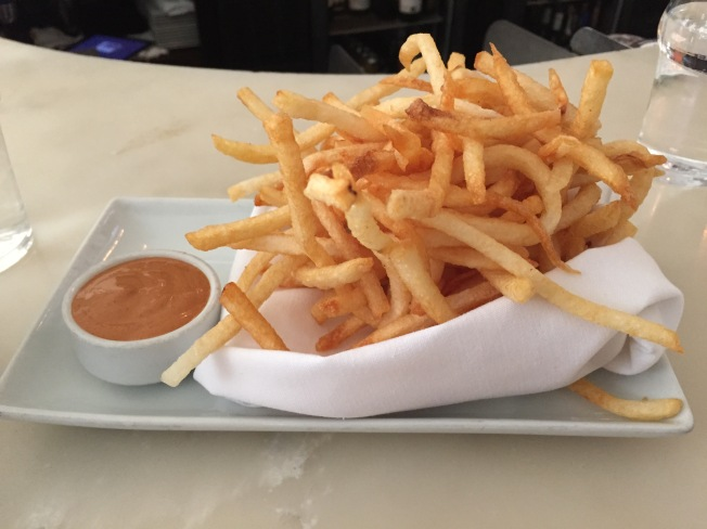 French Fries w/Fry Sauce - $6