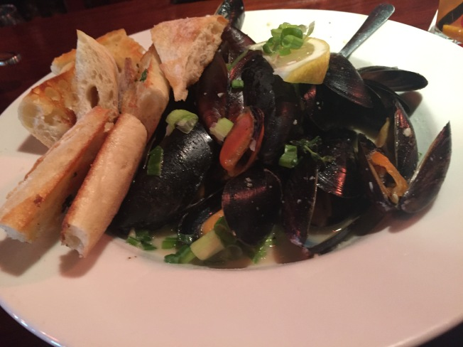 Celtic Mussels - O'so Porter, cream, scallions and fresh herbs