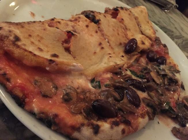 Pizza Via Uno - Half calzone, half pizza!