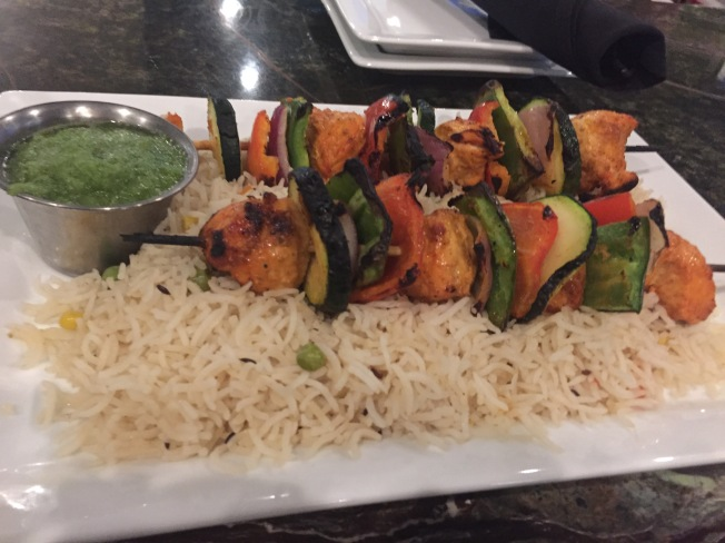 Chicken Tikka Kabab with Mint Chutney - $15