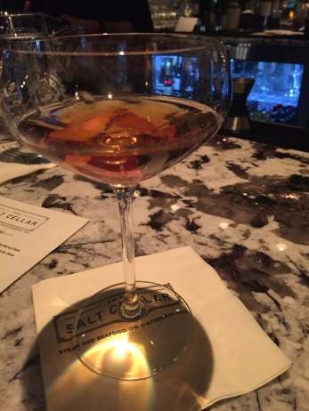 HAYMAN'S OLD TOM GIN CARPANO ANTICA FORMULA LUXARDO MARASCHINO LIQUEUR REGANS ORANGE BITTERS